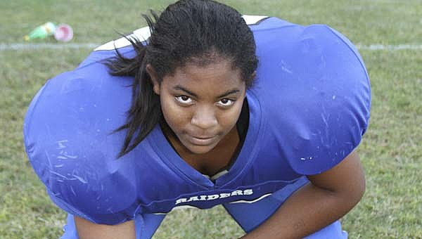 Pictured Mina Johnson photo by DON BRIDGERS/TIDEWATER NEWS