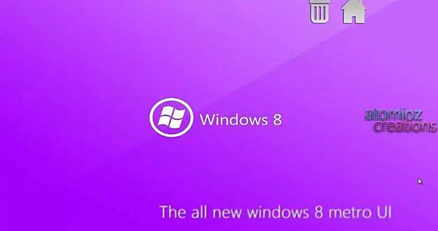 WINDOWS 8 screen shot youtube