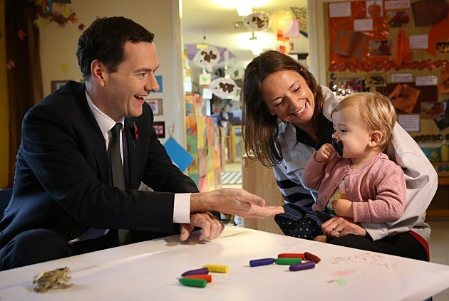 Chancellor George Osborne Meets Women Leading The Economy