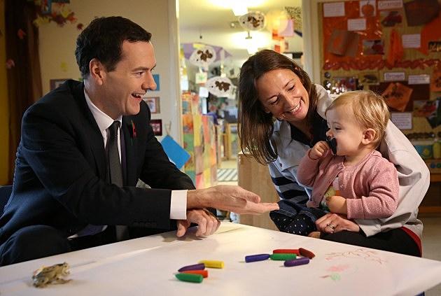 Chancellor George Osborne Meets Women Leading The Economy