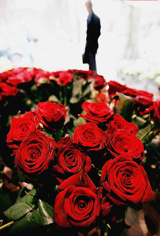 Lovers Celebrate Valentines Day