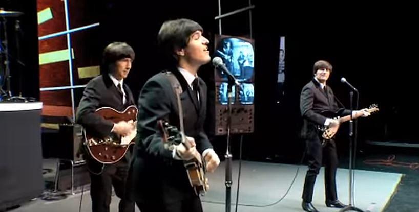 screenshot youtube.com RAIN: A Tribute To The Beatles